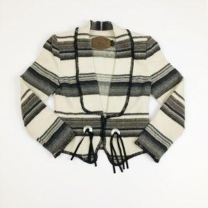 Woolrich Aztec Western Navajo Wool Blazer. Sz Smll